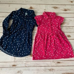 Baby Gap star dresses (set of 2)